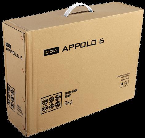 Apollo 6 (210 Вт) спроектирован для пользования по всему миру. Диапазон входного напряжения от 100 до 240 V. Им можно пользоваться и в США и в Европе, и конечно, в России.