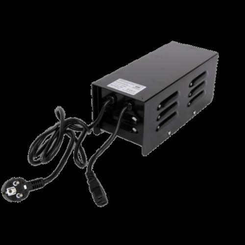 ЭмПРА Techone 600W Metal Magnetic ballast Качественные и надежные ЭмПРА - это мощность, высокое качество и отличная изоляция класса – Н, простота в эксплуатации, плавкий предохранитель, работает от 220/240В, шнур питания 220\240В в комплекте, подходит для всех видов HPS ламп (рассчитанных на 100 В 4.7A).