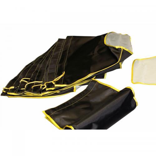 Honey Bag Basic 4x15L мешки для экстракции Набор мешков Honey-Bag Basic KIT4 для ледяной экстракции смол, эфирных масел и кристаллов состоит из 4-х мешков по 15 литров: одного рабочего, с размером ячеек сетки 225 микрон и трех мешков фильтров с сеткой 160,65 и 25 микрон. Мешки выполнены из высокопрочной синтетической ткани со специальным покрытием, которая не пропускает воду. Фильтрующее дно из сетки швейцарского производителя точных микронных сит NanoLABWeave имеет высокую механическую прочность. Благодаря технологии плетения синтетических волокон с повышенной фиксацией нити, делает сито устойчивым к разрывам и растяжению.