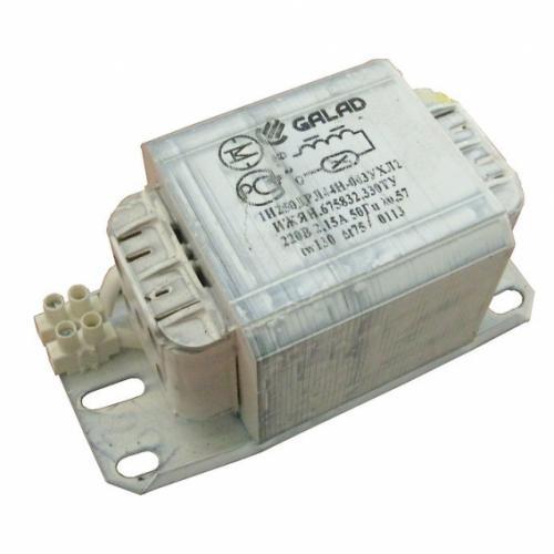 ЭмПРА GALAD 250W ДНАТ встроенное без корпуса (1И 250 ДНаТ 46Н-003)