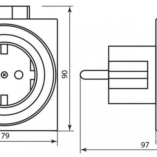 Розетка с таймером, суточная, мощность 3500W/16A IP44 Feron TM31/61924 23204 легко настраивается механическим способом. Имеет большое количество программ. Станет прекрасным помощником в быту. Поможет существенно сократить электропотребление благодаря своевременному включению и отключению различных приборов.