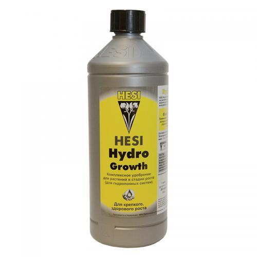 HESI Hydro Growth 1 L Hesi Hydro Growth Удобрение для стадии вегетации при выращивании на гидропонике. Hydro Growth содержит все необходимые основные питательные и минеральные вещества, которые идеально подобраны для фазы роста.