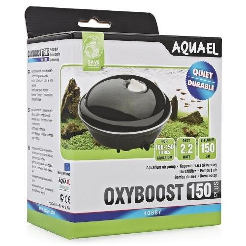 Компрессор AQUAEL OXYBOOST 150 plus oдноканальный AQUAEL OXYBOOST PLUS, продолжающие 30-летнюю традицию мембранных насосов производства фирмы Aquael. На фоне других моделей, представленных на рынке, они выделяются современным дизайном, высоким качеством изготовления и большой производительностью.