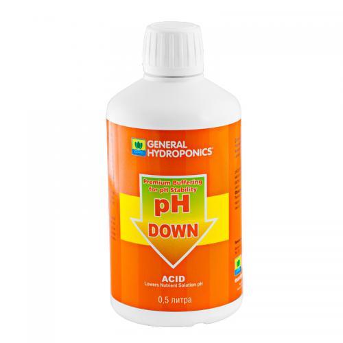 pH Down GHE 0,5 L