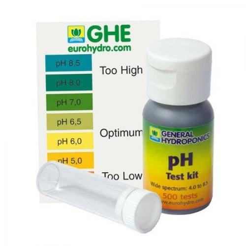 Жидкий pH тест GHE 60мл (t°C)