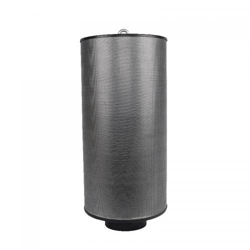Угольный фильтр Magic Air 2500  м3/ 250 мм  Фильтры MagicAir заполнены гранулированным активным углем высокого качества, отечественного производства (ОАО Сорбент) Фильтры MagicAir заполняются углем на уникальной установке, где уголь не только уплотняется, но и очищается от угольной пыли. Для очистки фильтруемого воздуха от пыли и пыльцы фильтр комплектуется многоразовым предфильтром (допускается 2-3 стирки). Демпфер-уплотнитель позволяет использовать фильтр в любом пространственном положении (вертикально, горизонтально).