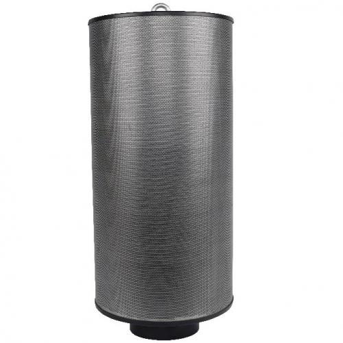 Угольный фильтр Magic Air 500 м3/ 125 мм (сетка металл)  Фильтры MagicAir заполнены гранулированным активным углем высокого качества, отечественного производства (ОАО Сорбент) Фильтры MagicAir заполняются углем на уникальной установке, где уголь не только уплотняется, но и очищается от угольной пыли. Для очистки фильтруемого воздуха от пыли и пыльцы фильтр комплектуется многоразовым предфильтром (допускается 2-3 стирки). Демпфер-уплотнитель позволяет использовать фильтр в любом пространственном положении (вертикально, горизонтально).
