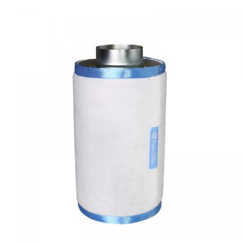 Nano Filter S 250 м3 Воздушные угольные фильтры NanoFilter предназначены для очистки вентиляционных выбросов. Угольный фильтр, встраиваемый в систему приточно-вытяжной вентиляции, обеспечивает очистку воздуха от аллергенных примесей и запахов органического происхождения, и при правильной установке и эксплуатации, гарантируют практически полную очистку. Высококачественный активированный уголь обеспечивает работу фильтра в непрерывном режиме не менее 12 месяцев. Внешний предфильтр подлежит замене каждые 4-6 месяцев.