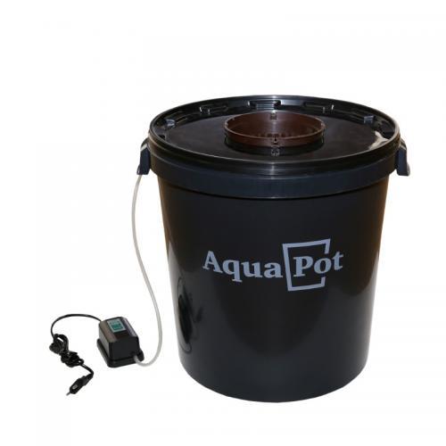Гидропонная система AquaPot  XL ( 5 шт/уп )  Предназначена для выращивания одно- и многолетних растений в теплицах, оранжереях и в домашних условиях. В основе работы системы лежит принцип глубоководной культуры (DWC - deep water cultivation). Один из самых распространенных и эффективных методов гидропонного выращивания.