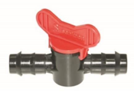 Кран заершенный  20*20 Соединяет шланги 3/4 или пэ трубки 20мм