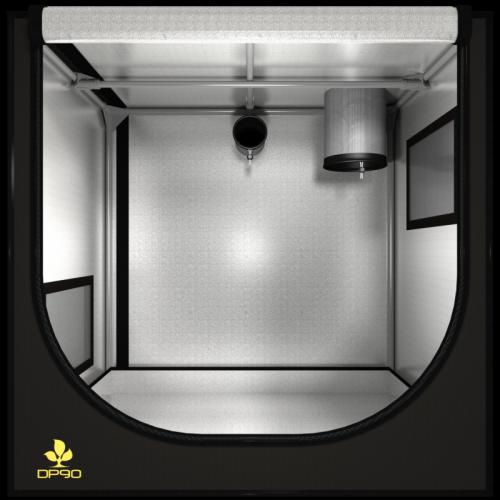 Dark Propogator 90x60x90 V2.6 Сделан из высококачественного светоотражающего материала – «майлар» Вместимость: от  70 до 900 саженцев