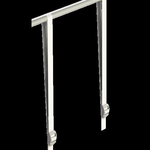 2шт* Ремень 45 см Лямка-ремень для крепления оборудования к каркасу тента Secret Jardin – фильтров, гофрированных воздуховодов, вентиляторов и т.п.