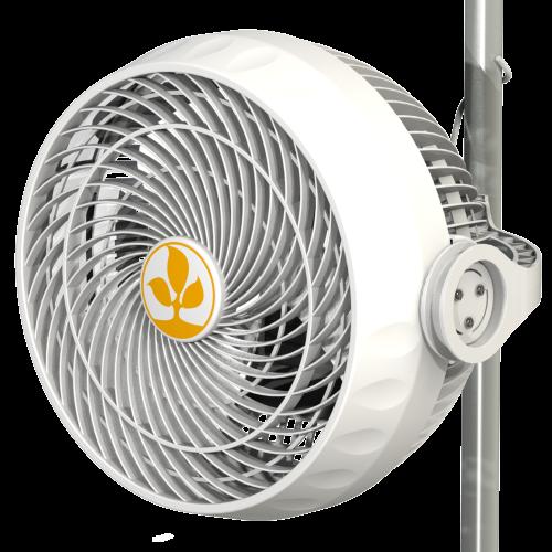 Вентилятор Monkey Fan, 30 W (двухскоростной)  Вентилятор Monkey Fan  Предназначен для обдува растений. Имеет два вида крепления - клипса и петля. Крепится к каркасным трубкам гроу-тента. Совместим с диаметром каркасных трубок от 16 до 21мм. Не соскальзывает. Легко устанавливается и регулируется.