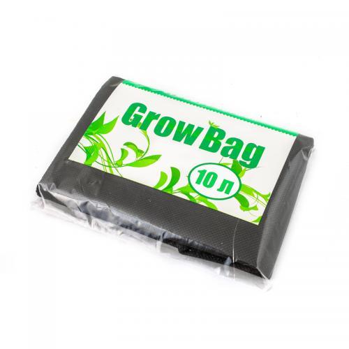 Grow Bag 10 л, 1 шт (min заказ 15 шт) Нетканный мешок для растений, изготовленный из специального текстильного полотна. Обеспечивает максимально благоприятные условия для роста растений, обеспечивает аэрацию и подрезание корней, а также воду, что исключает перелив и гниение. Горшки из текстиля изготавливаются из надежных высококачественных материалов и могут использоваться неоднократно.