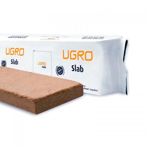 мат из чистового кокосового субстрата UGro Slab 15л UGro Slab — это пластиковый контейнер для выращивания (grow bag), устойчивый к воздействию ультрафиолетовых лучей и содержащий 1,6 килограмм кокосового субстрата. В основании контейнера предусмотрены дренажные отверстия. Необходимо всего 10 литров воды, чтобы превратить UGro Slab в 15 литров высококачественного кокосового субстрата. UGro Slab подходит для всех типов культур. Может быть использован для выращивания как в помещении, так и на открытом воздухе.