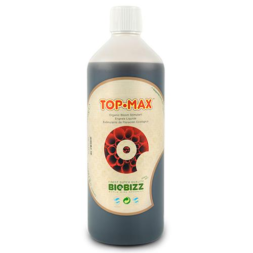 Стимулятор цветения TopMax BioBizz 0.5 L ТopMax – 100% органический усилитель цветения тройного действия: увеличивает размер и вес цветочных гроздьев, обеспечивает приятный сладкий вкус плодов, способствует поглощению растением питательных веществ. Специально разработан для использования с почвенными смесями Biobizz.