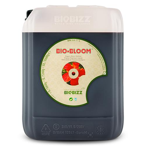 Органическое удобрение для стадии цветения Bio-Bloom BioBizz 5 L Bio-Bloom – жидкое органическое удобрение, содержащее небольшое количество азота, достаточно фосфора и калия, что обеспечивает изобильное цветение.