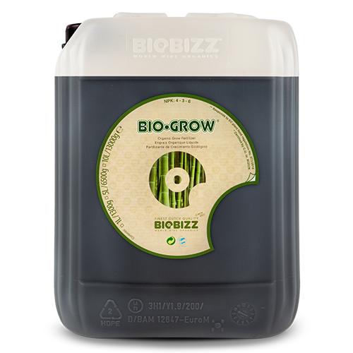 Органическое удобрение для стадии вегетации Bio-Grow BioBizz 5 L Bio-Grow – жидкое удобрение, которое можно использовать с большинством типов почвенных и беспочвенных субстратов. Bio-Grow активирует бактериальную флору в субстрате благодаря тому, что сделан на основе органического экстракта голландской сахарной свеклы – патоки.