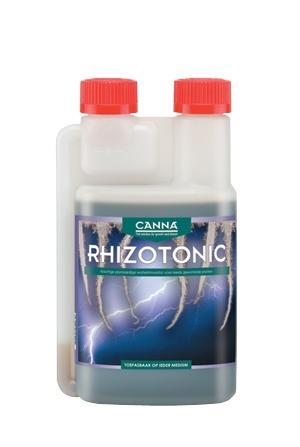 Органический стимулятор корнеобразования CANNA RHIZOTONIC, 0.5 L CANNA RHIZOTONIC это сильный, основанный на морских водорослях, растительный стимулятор для корневой системы. 100% натуральный стимулятор, содержащий огромное количество витаминов. Используя RHIZOTONIC, Вы вносите более чем 60 микробиологических видов, которые значительно ускоряют рост и балансируют окружающую среду корня (ризосферу).