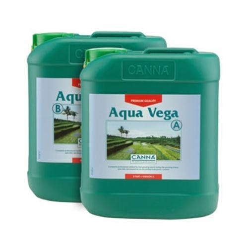 Двухкомпонентное удобрение для стадии вегетативного роста CANNA Aqua Vega A+B, 5 L Двухкомпонентное удобрение для стадии вегетативного роста при выращивании в реверсивных гидропонных системах. CANNA Aqua Vega – быстродействующее удобрение, в котором содержатся все необходимые для оптимального роста элементы. Фаза вегетативного роста - важный этап, поскольку именно на нем в растениях закладывается основа для обильного цветения и хорошего урожая. Aqua Vega используется при выращивании в реверсивных системах, таких как NFT (техника питательного слоя) или  ebb & flow (системы периодического затопления).
