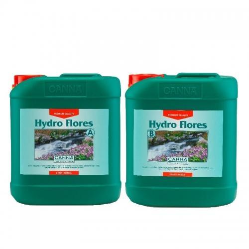 Двухкомпонентное удобрение для стадии цветения CANNA Hydro Flores A+B, 5 L (hard water) Двухкомпонентное удобрение для стадии цветения при выращивании в нереверсивных гидропонных системах. Разработано для жесткой воды.