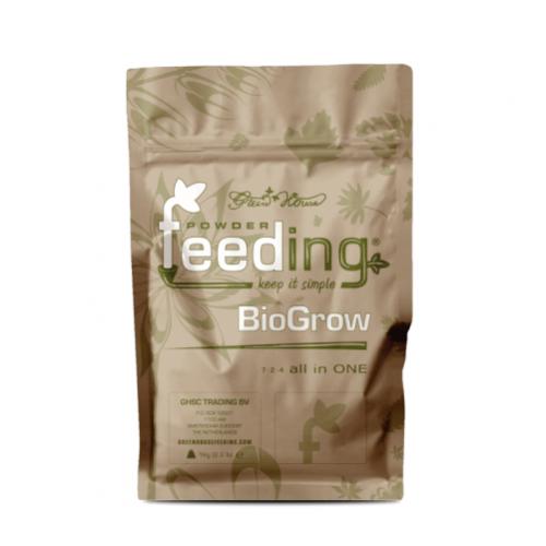 Powder Feeding BIO Grow 1 kg BioGrow - это полнорациональное порошковое био-удобрение, специально разработанное для любых видов растений в период вегетации.   Все питательные вещества получены из природных минералов и органического сырья.