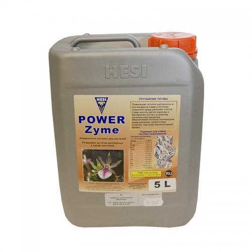 HESI PowerZyme 5 L Ферментный экстракт для растений. Обеспечивает чистую и богатую кислородом среду выращивания. Укрепляет растения и их корни. Улучшает микрофлору и повышает иммунитет.