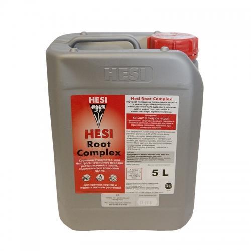 HESI Root Complex 5 L Hesi Root Complex – это эликсир для молодых растений их клонов и черенков, также для растений в стрессе и материнских растений. Root Complex представляет собой комбинацию из микроэлементов, а также жизненно необходимых компонентов (аминокислоты, ферменты, витамины, растительные сахара), которые способны обеспечить растение оптимальными условиями для старта.