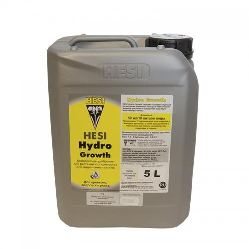 HESI Hydro Growth 5 L HESI Hydro Growth содержит пропорционально больше азота, чем компоненты Hesi Hydro Bloom, потому что в фазе роста растение нуждается в большем количестве азота для производства новых соцветий. Жизненно важные компоненты полностью адаптированы к фазе роста, витамины вкладываются в растение в среде гидроузла, также как в вату.